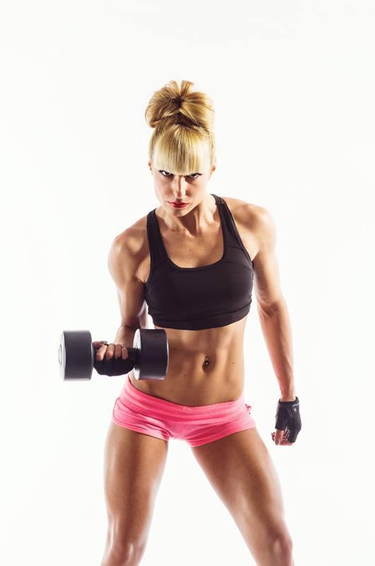 Жоржета Янакиева Фитнес модел на Word Class Fitness and Spa 2016г