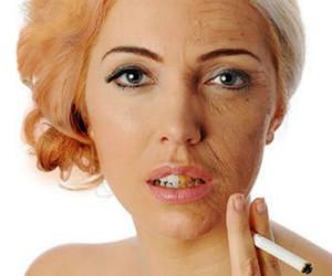 Оцветяване на кожата при тютюнопушенето