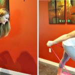 Тренировка за трицепс с ластици за фитнес