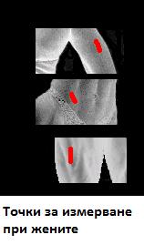 измерване на мазнини в женското тяло