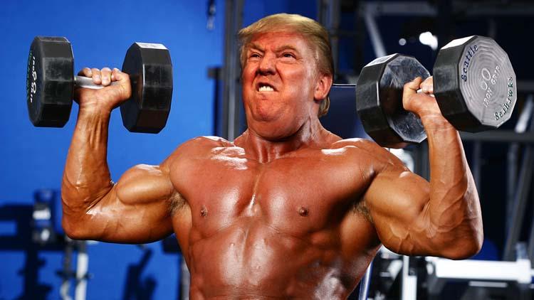 Доналд Тръмп фитнес