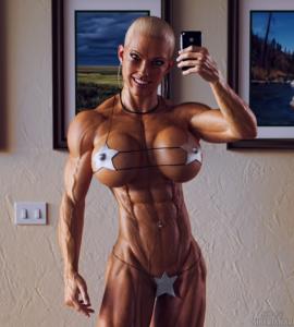 Секси фитнес модел