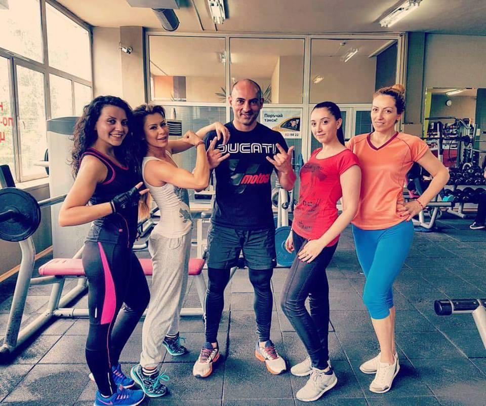 Димитър Николов - фитнес инструктор