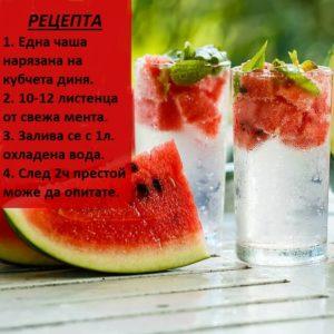 Детокси-полодова-вода-с-диня-мента