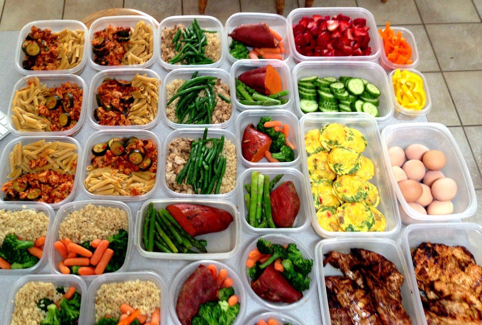 Хранителен режим за мускулна маса и сила
