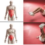 фитнес упражнения за корем коремни преси