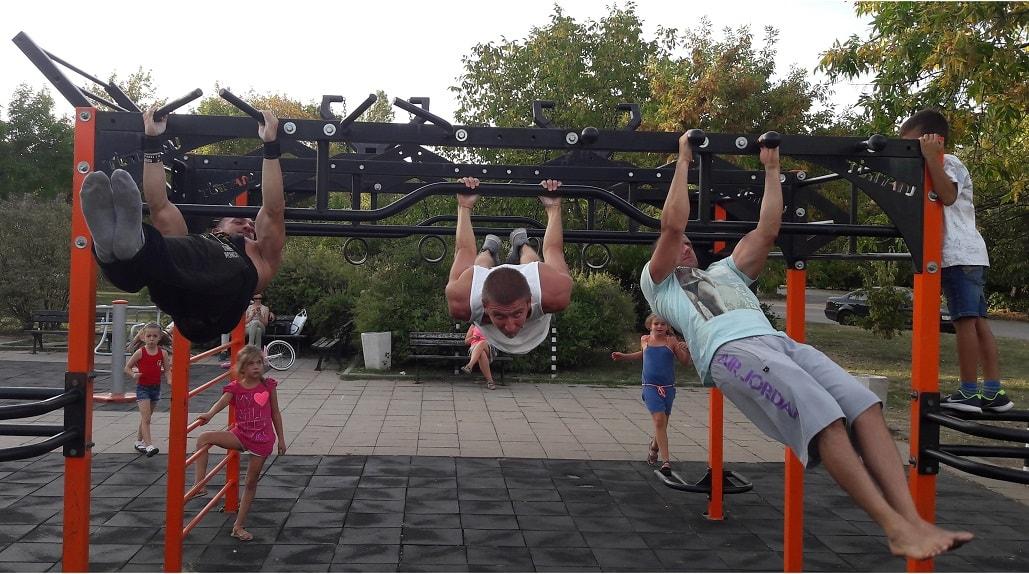 стрийт фитнес упражнения