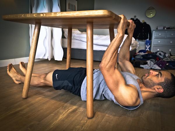 домашни упражнения за ръце и гръб