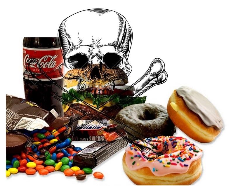 вредни храни за отслабване