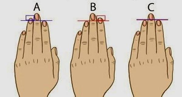 генотип по дължината на пръстите