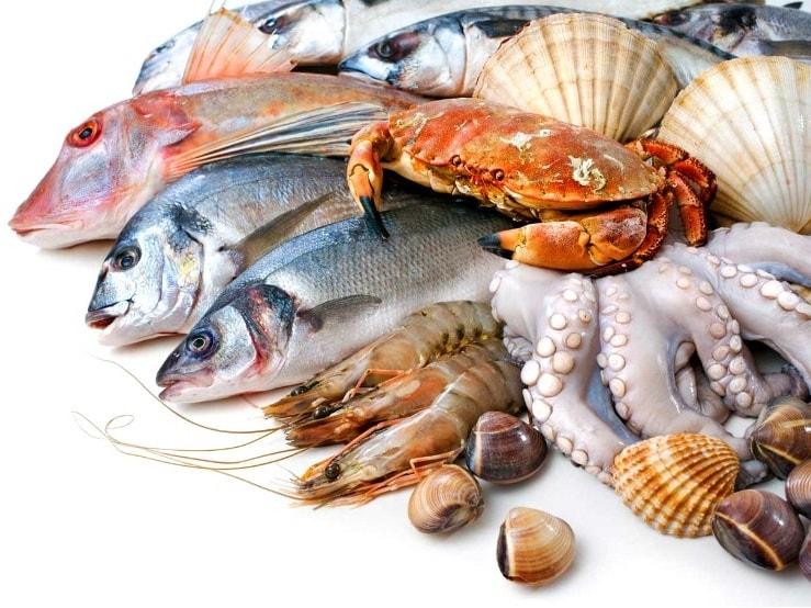 Морска храна за кръвна група А