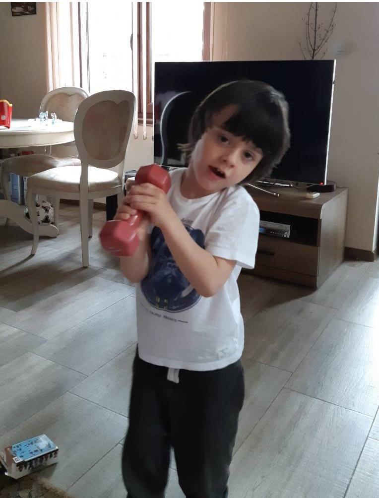 фитнес упражнения за деца