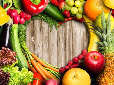 плодове и зеленчуци при диети и здравословно хранене