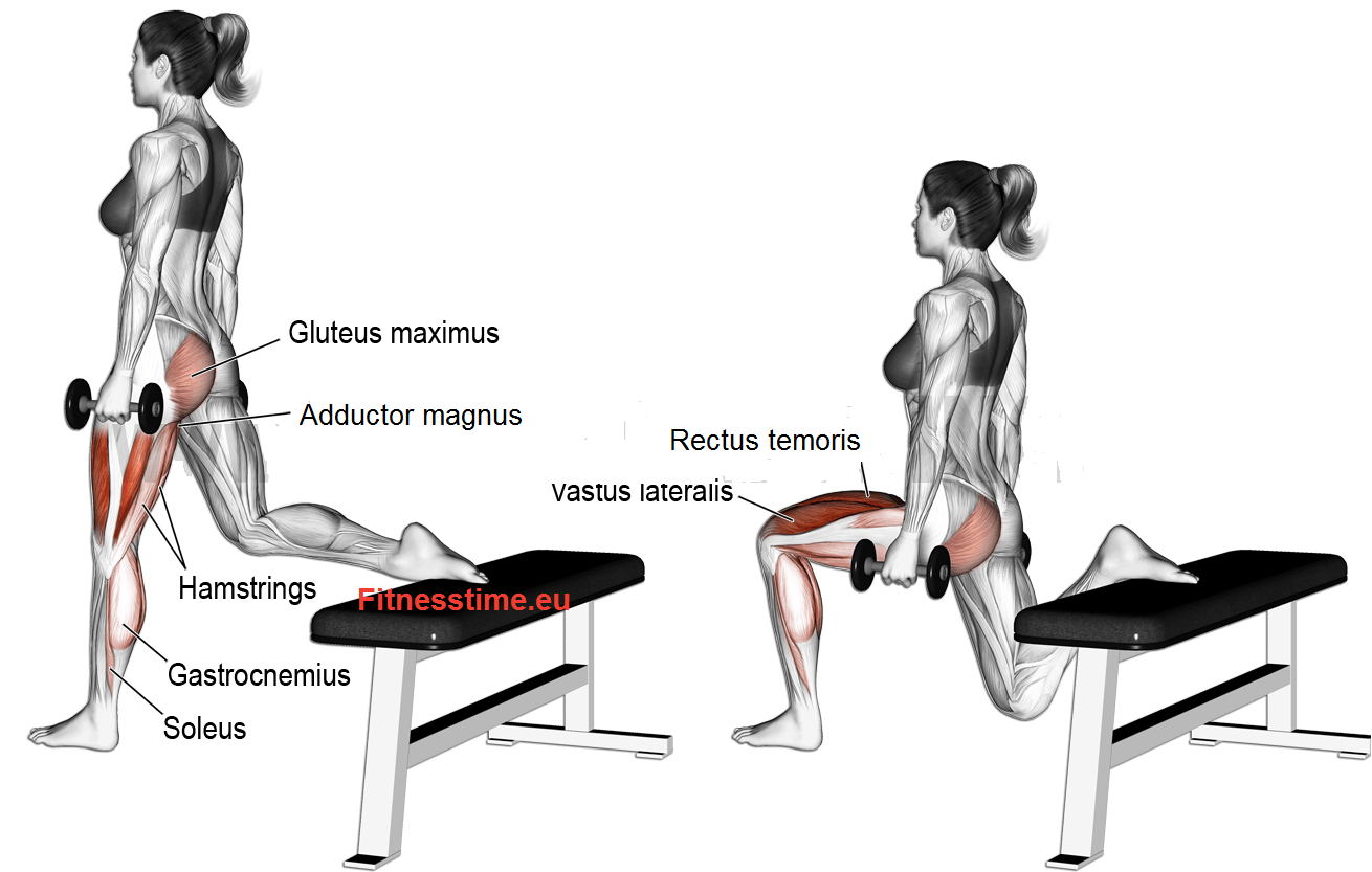 Тренировка за стегнато дупе (глутеус). Български клек.