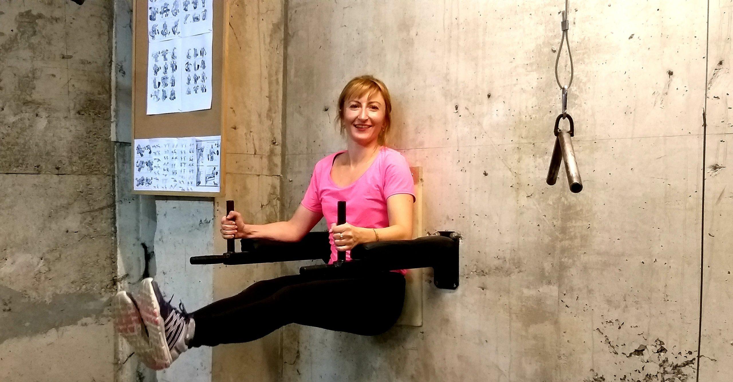 Милена Иванова фитнес тренировка