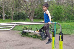тренировка за деца на лостове